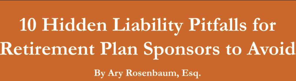 10 Hidden Liability